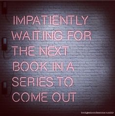 impatiently waiting