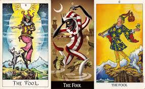 Picture of The Fool Tarot Card
