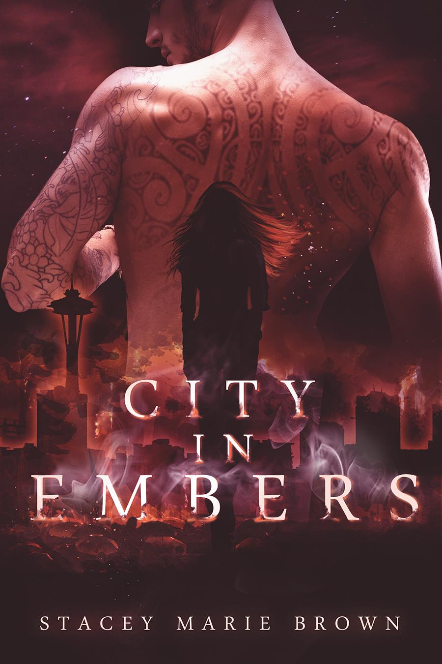 City in Embers Book Cover