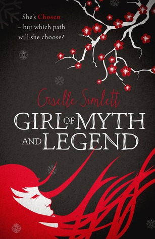 Girl of Myth and Legend Book Cover