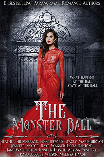 The Monster Ball: A Paranormal Romance Anthology Book Cover