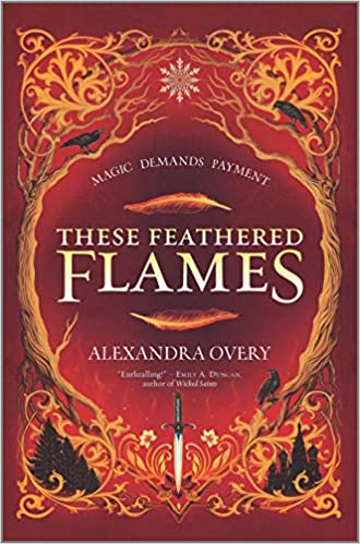 These Feathered Flames Book Cover