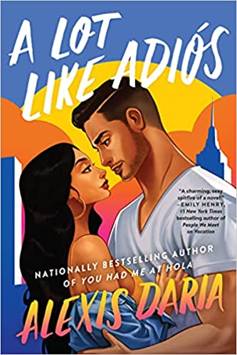 A Lot Like Adios Book Cover
